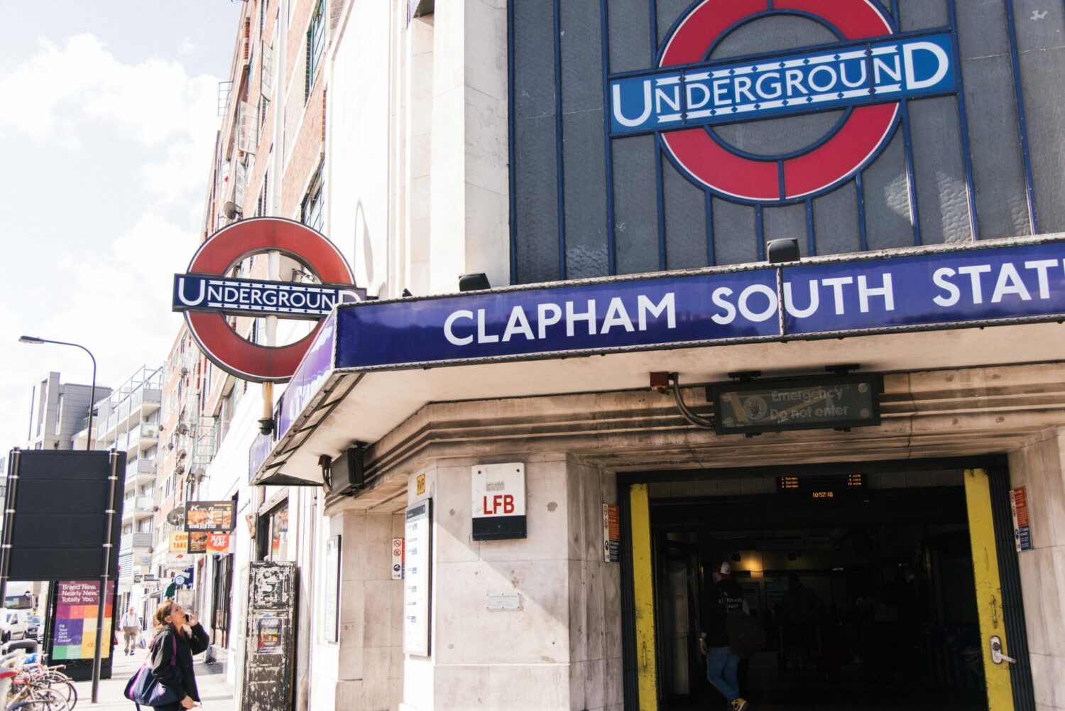 Clapham South Train Station